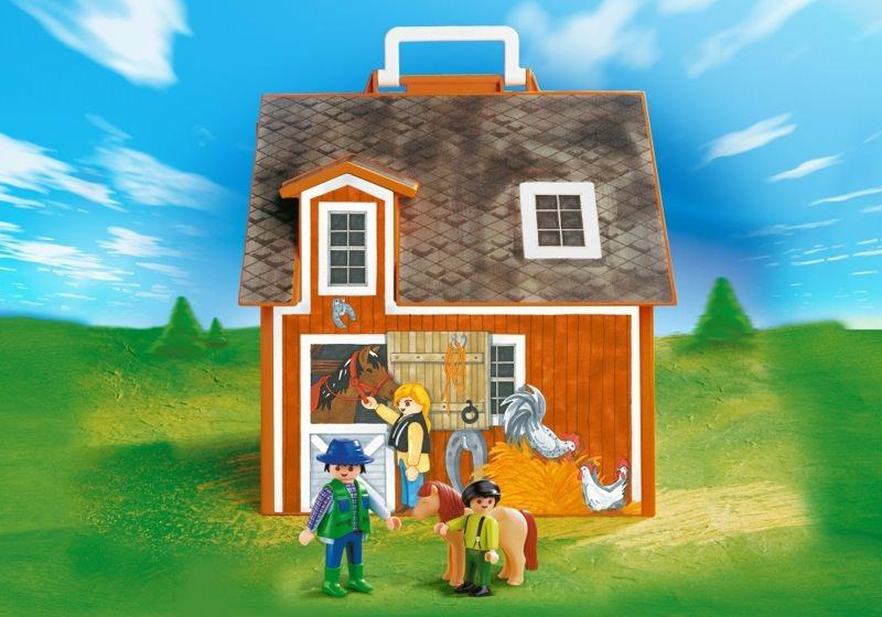 Playmobil Take Along Farm my Take Along Farm