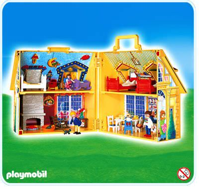 playmobil set 4145 my take along doll house klickypedia. Black Bedroom Furniture Sets. Home Design Ideas