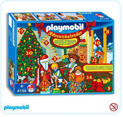 playmobil set 4150 advent calendar christmas eve. Black Bedroom Furniture Sets. Home Design Ideas