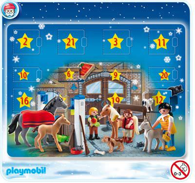 playmobil set 4159 advent calendar 39 pony ranch. Black Bedroom Furniture Sets. Home Design Ideas