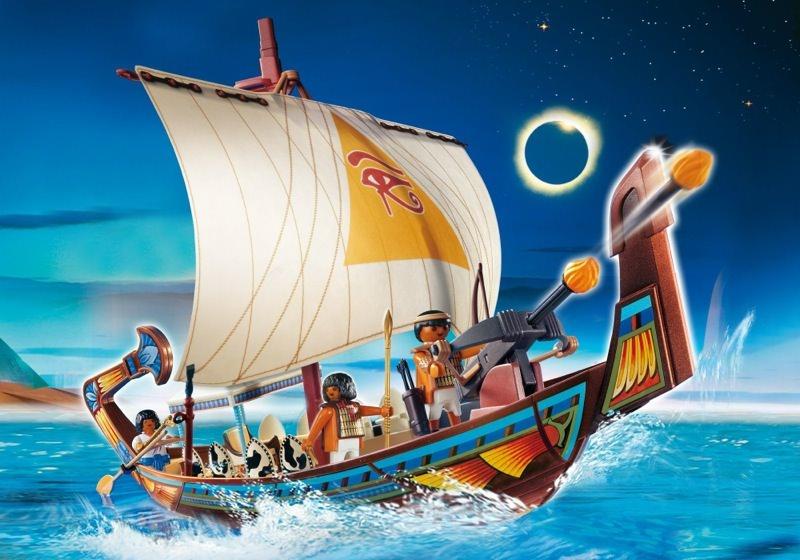 Playmobil set 4241 royal ship of egypt klickypedia - Playmobil egyptien ...