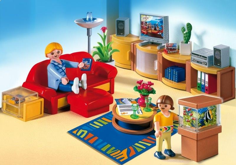 Playmobil Modern Living Room Set