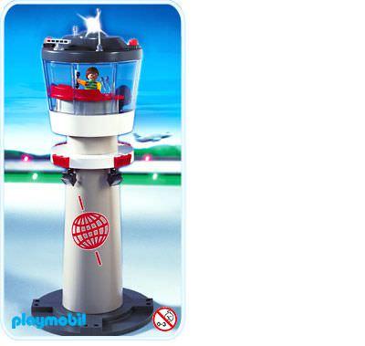 Playmobil Set: 4313 - Airport Tower with Flashing Light - Klickypedia