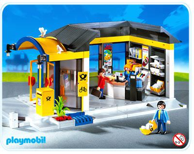 Playmobil set 4400 post office klickypedia for Playmobil post
