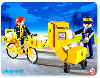 Playmobil set 4403 mail carriers klickypedia for Playmobil post