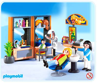 Playmobil set 4413 beauty salon klickypedia for Salon playmobil