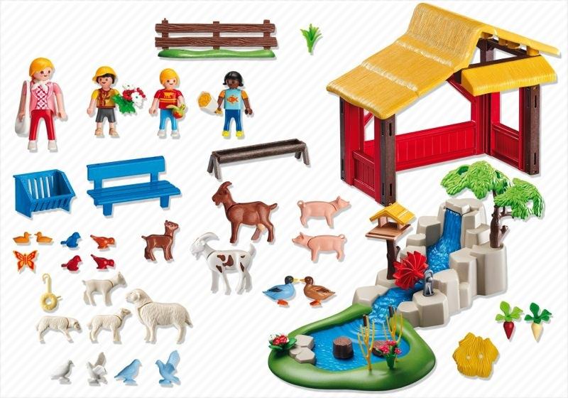 Playmobil Set 4851 Children 39 S Zoo Klickypedia