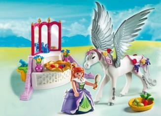 Playmobil set 5144 pegasus with decorations klickypedia - Playmobil geant decoration ...