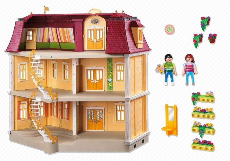 grande mansion playmobil