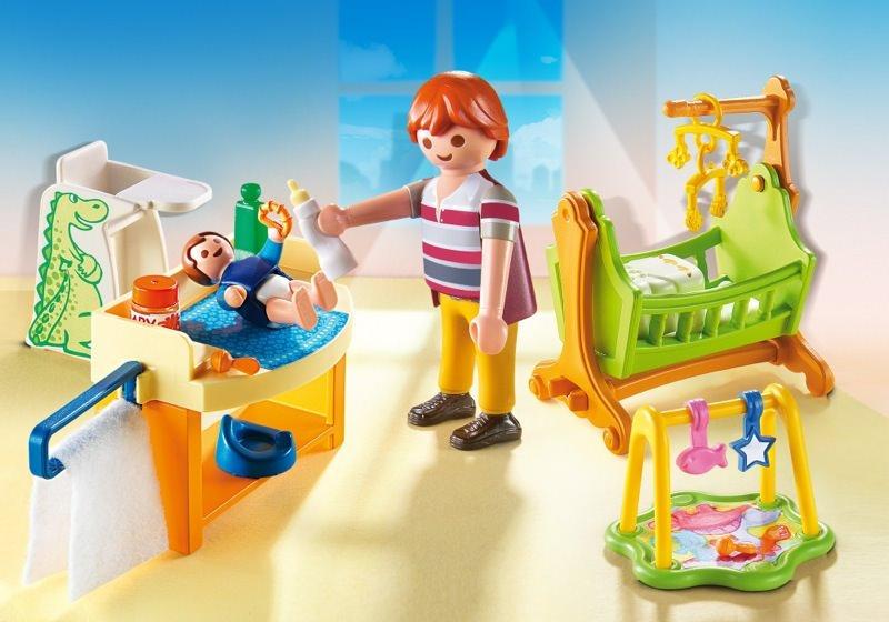 mit wiege n a babyzimmer mit wiege n a theme dollhouse 40 sets ...
