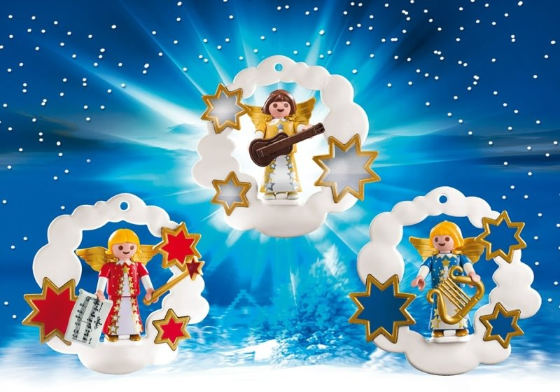 Playmobil Set 5591 Weihnachtsdeko Engelchen Klickypedia