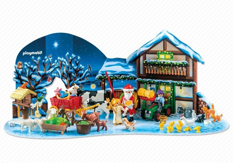 playmobil set 6624 adventskalender weihnacht auf dem. Black Bedroom Furniture Sets. Home Design Ideas