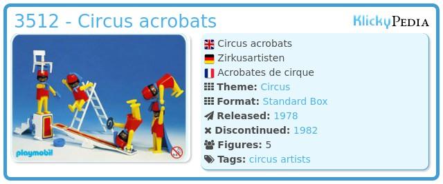 Playmobil 3512 - Circus acrobats