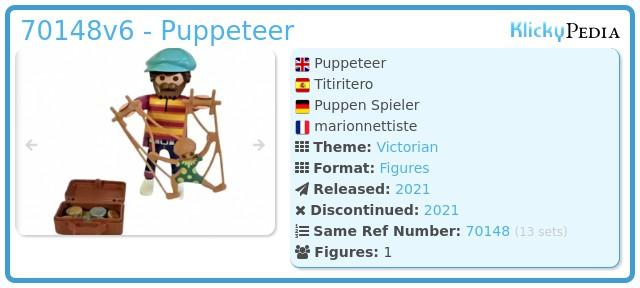 Playmobil 70148v6 - Puppeteer
