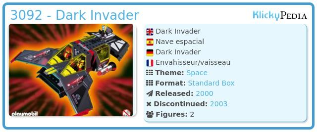 Playmobil 3092 - Dark Invader