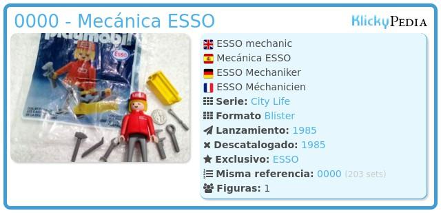 Playmobil 0000 - Mecánica ESSO