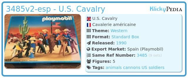 Playmobil 3485v2-esp - U.S. Cavalry