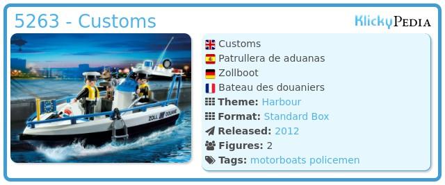 Playmobil 5263 - Customs