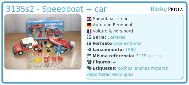 Playmobil 3135s2 - Speedboat + car