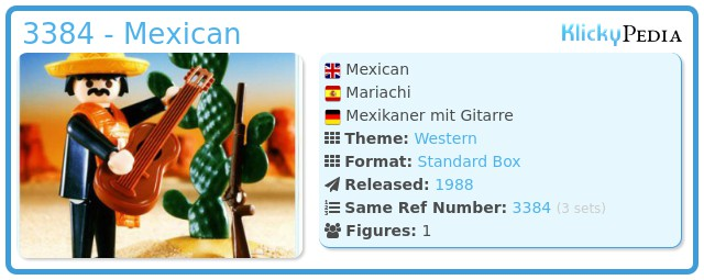 Playmobil 3384 - Mexican