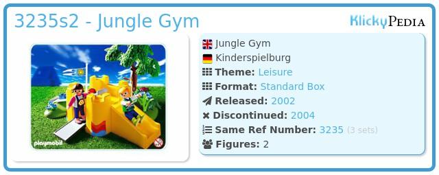Playmobil 3235s2 - Jungle Gym