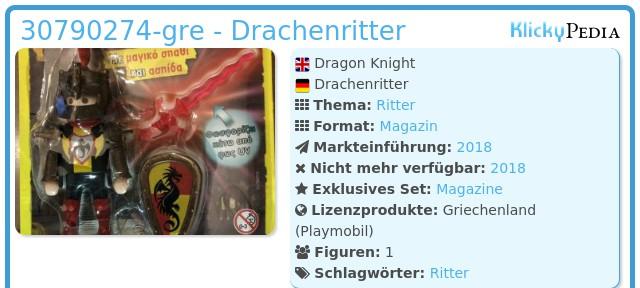 Playmobil 30790274-gre - Dragon Knight