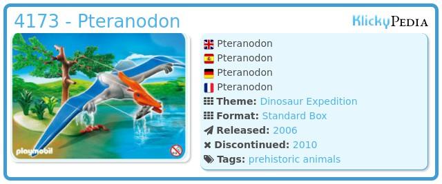 Playmobil 4173 - Pteranodon