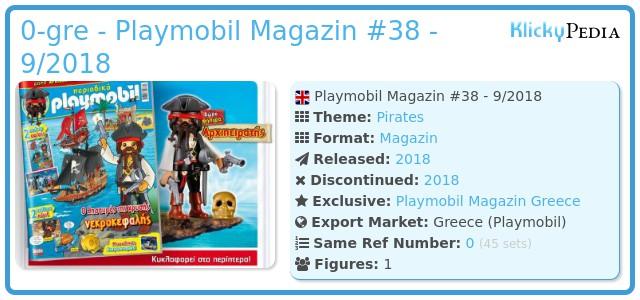 Playmobil 0-gre - Playmobil Magazin #38 - 9/2018