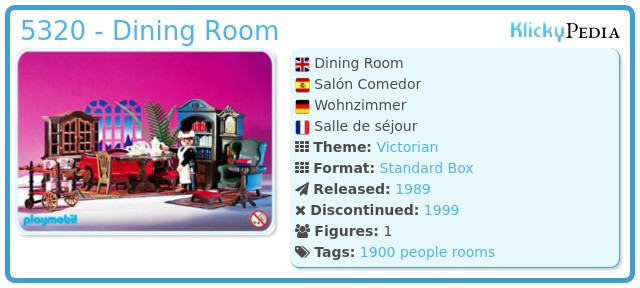 Playmobil 5320 - Dining Room