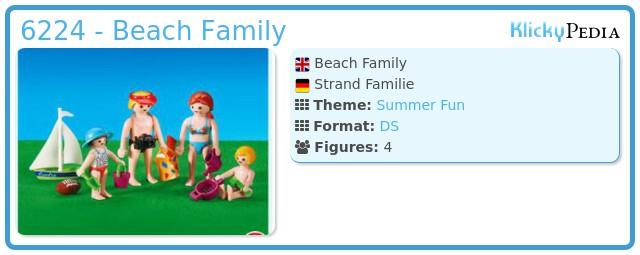 Playmobil 6224 - Beach Family