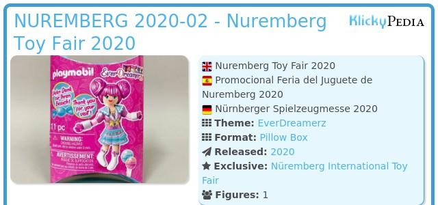 Playmobil NUREMBERG 2020-02 - Nuremberg Toy Fair 2020