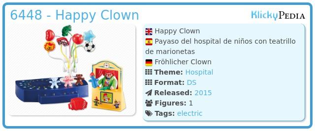 Playmobil 6448 - Happy Clown
