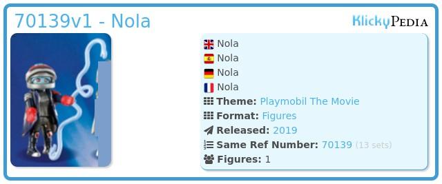 Playmobil 70139v1 - Nola