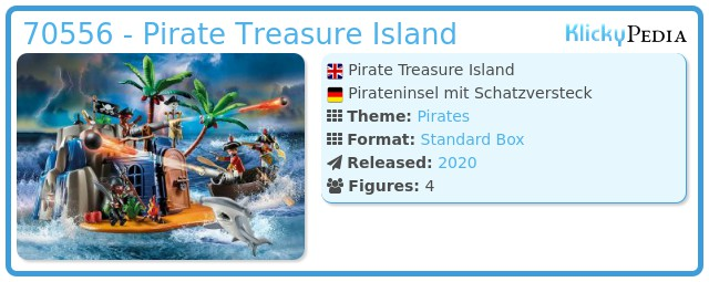 Playmobil 70556 - Pirate Treasure Island