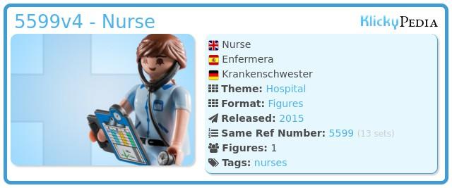 Playmobil 5599v4 - Nurse