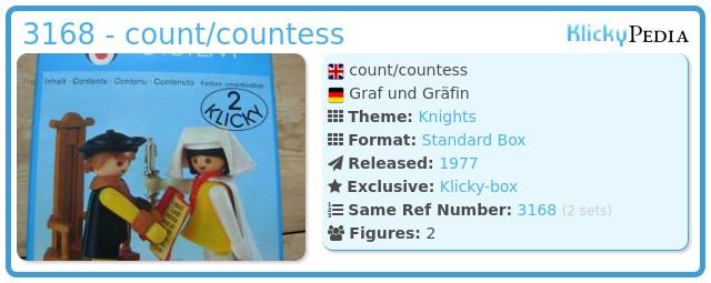 Playmobil 3168 - count/countess