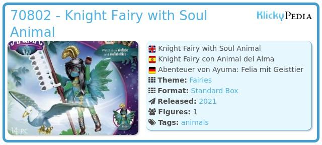 Playmobil 70802 - Adventures of Ayuma: Felia with spirit animal