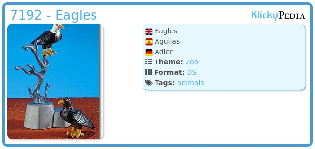 Playmobil 7192 - Eagles