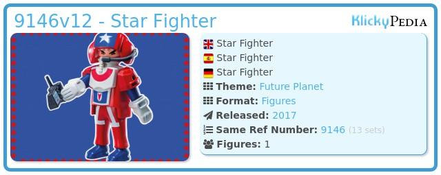 Playmobil 9146v12 - Star Fighter