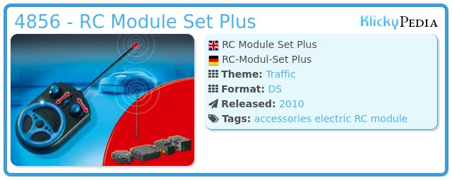Playmobil 4856 - RC Module Set Plus