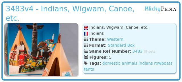 Playmobil 3483v4 - Indians