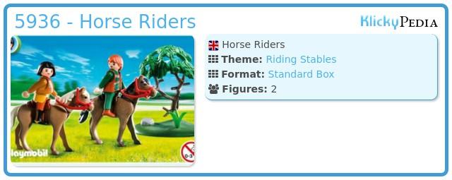 Playmobil 5936 - Horse Riders