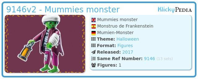 Playmobil 9146v2 - Mummies monster