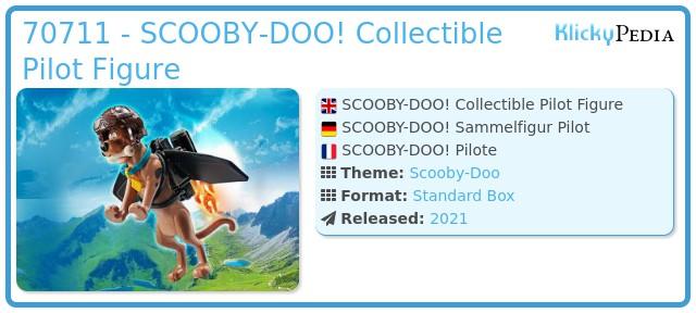 Playmobil 70711 - SCOOBY-DOO! Pilot Action Figure