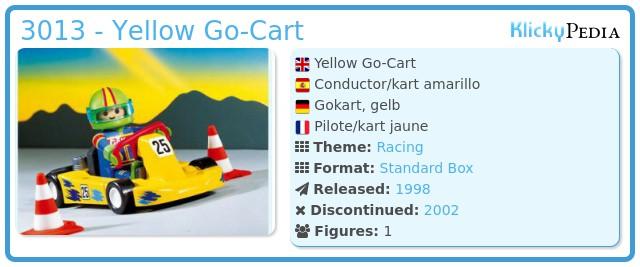 Playmobil 3013 - Yellow Go-Cart