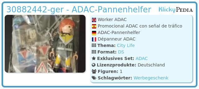 Playmobil 30882442-ger - ADAC-Mechaniker