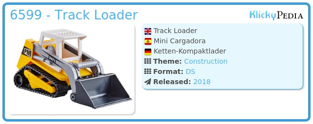 Playmobil 6599 - Track Loader