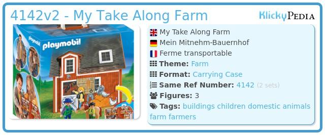 Playmobil 4142v2 - My Take Along Farm