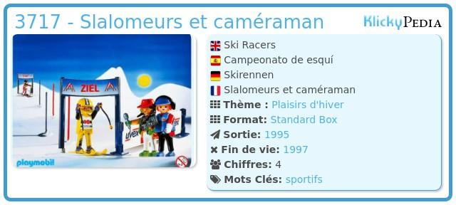 Playmobil 3717 - Ski Racers