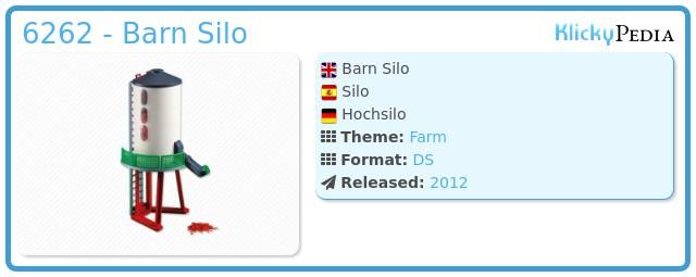 Playmobil 6262 - Barn Silo